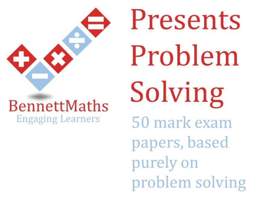 Bennett Maths - Problem Solving Papers